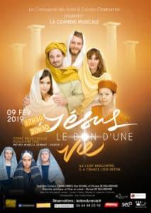 troupe de Jésus le don d'un vie