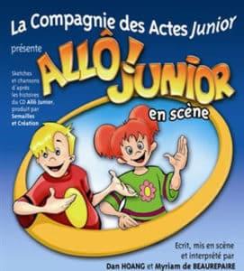 Allô Junior en scène